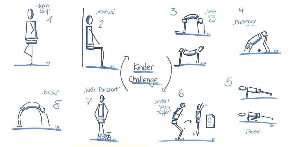 Challenge ideen für draußen